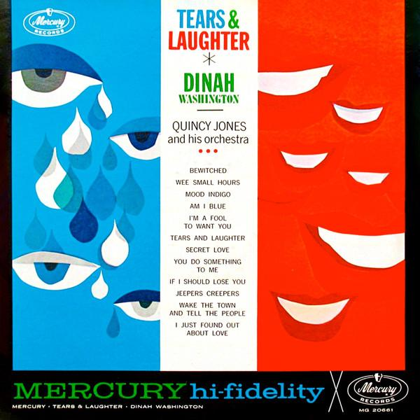Dinah Washington - Tears & Laughter - Dagga Tattoos + Record Shop