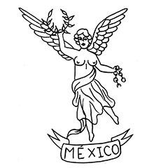 Tatuaje Cdmx y Angel - Dagga Tattoos + Record Shop