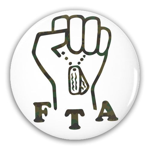 FTA Pin-Back Button