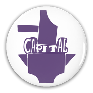 Smash Capital Pin-Back Button