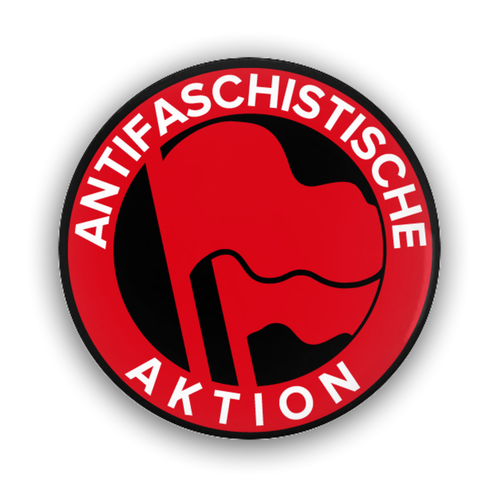 Anti-Fascist Action Button