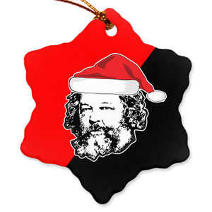 Bakunin Christmas Ornament