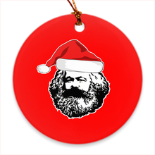 Load image into Gallery viewer, Karl Marx Christmas Ornament
