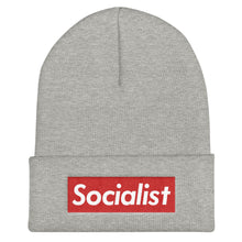 Load image into Gallery viewer, Socialist Cuffed Beanie