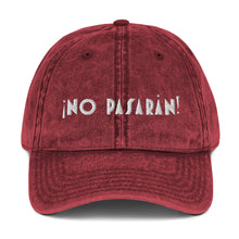 Load image into Gallery viewer, No Pasaran Cotton Twill Cap