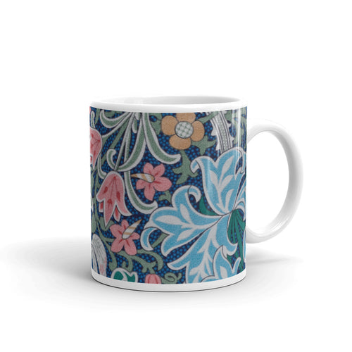 William Morris Flower Mug