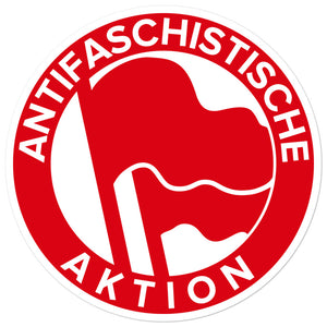 Anti-Fascist Action Sticker