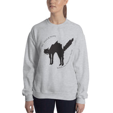 Black Cat Unisex Sweatshirt