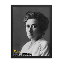 Load image into Gallery viewer, Rosa Luxemburg Framed Poster
