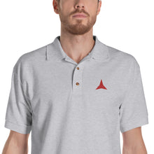 Load image into Gallery viewer, International Brigades Embroidered Men's Polo