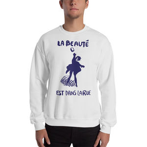 Beauty… Unisex Sweatshirt