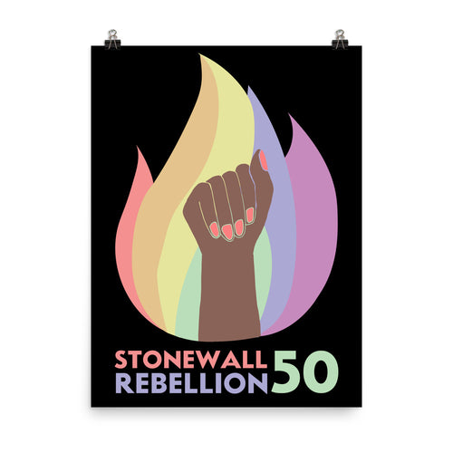 Stonewall 50 Poster