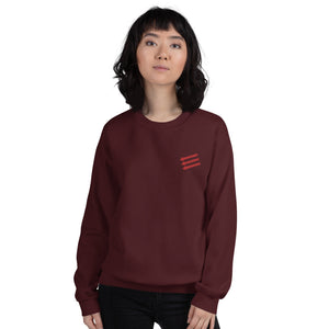 3 Arrows Unisex Embroidered Sweatshirt