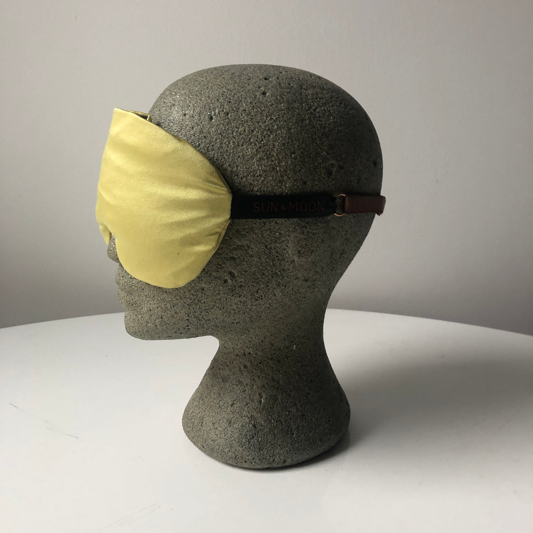 Silk Aromatherapy Sleep Mask - Marigold