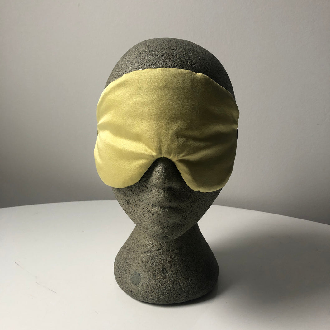Silk Sleep Mask - Marigold