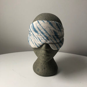 Shibori Indigo Sleep Mask