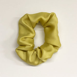 Silk Hair Tie - Marigold Flowers