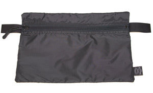 "Ultralight Zip Pouch 10""x6.5"" (Black) - Cedar Waxcraft"