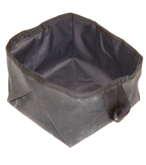 Collapsible Dog Bowl (Black) - Cedar Waxcraft