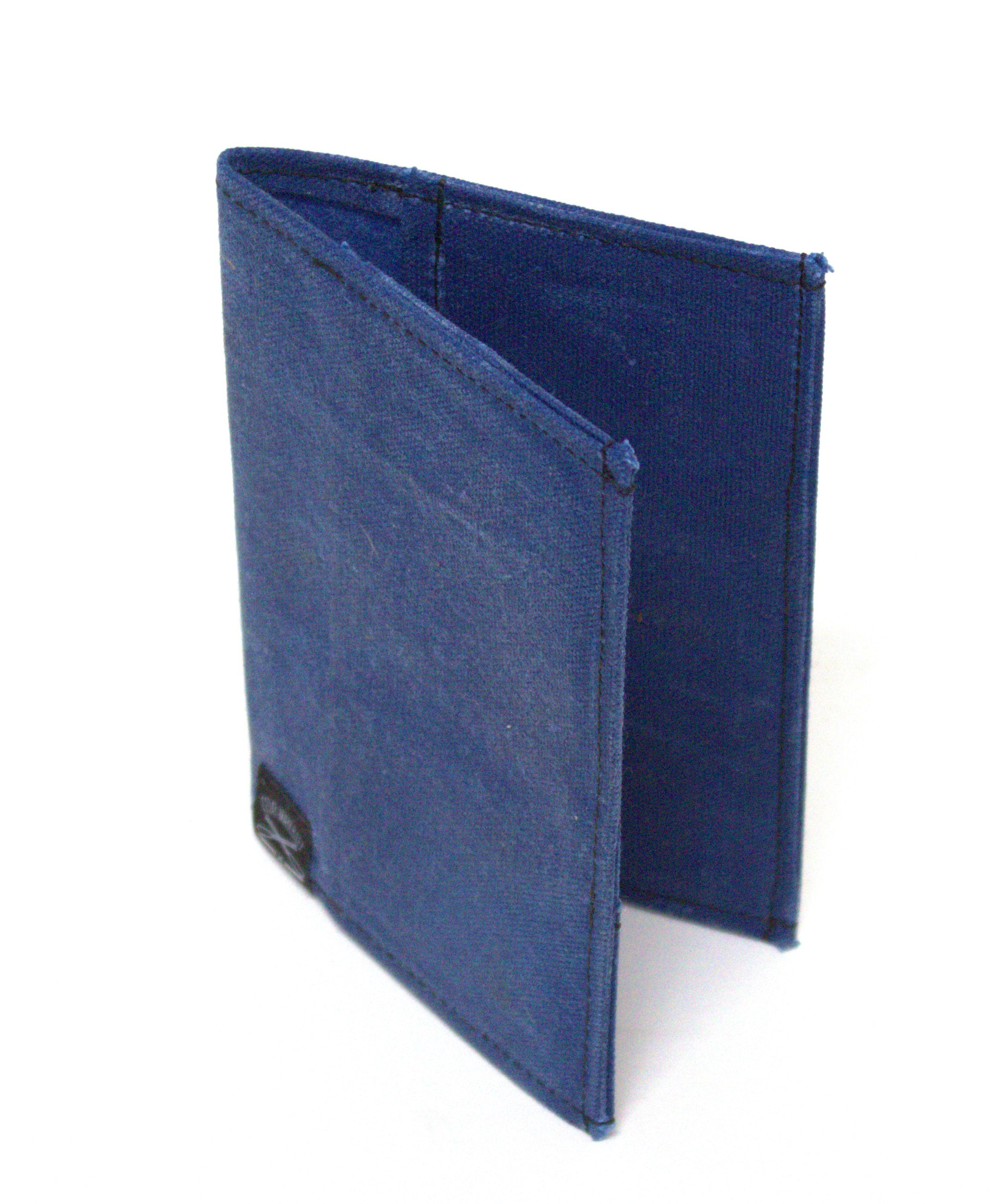 Waxed Canvas Field Notes Cover (Blue) - Cedar Waxcraft
