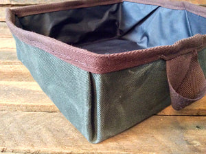 Collapsible Dog Bowl (Green) - Cedar Waxcraft