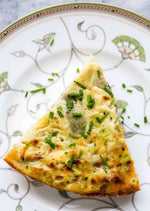 Frittata with Leeks and Gruyere