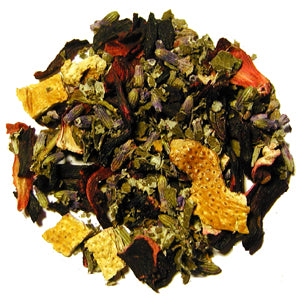 lady's soothing stess herbal tea