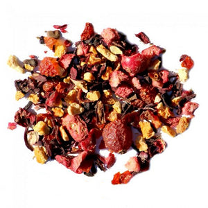 cranberry orange spice black tea