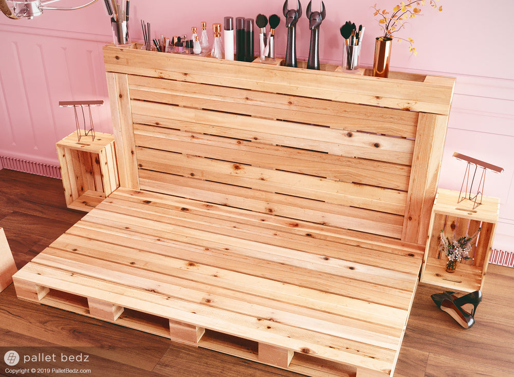 Pallet Bed - Daybed Version by Pallet Bedz