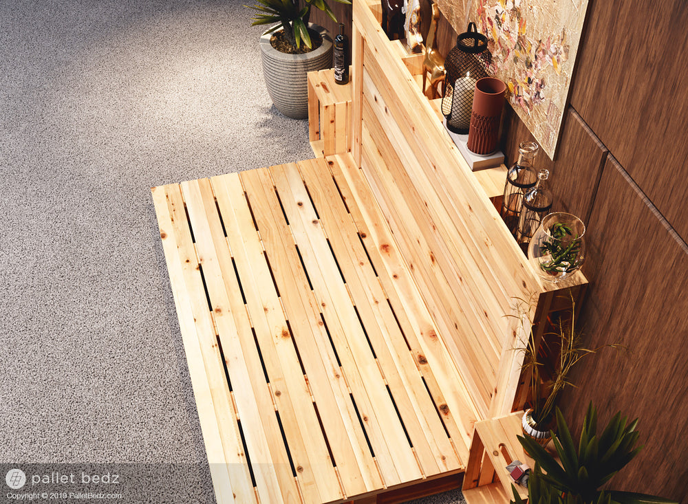 The Daybed - Twin Size Pallet Bed by Pallet Bedz