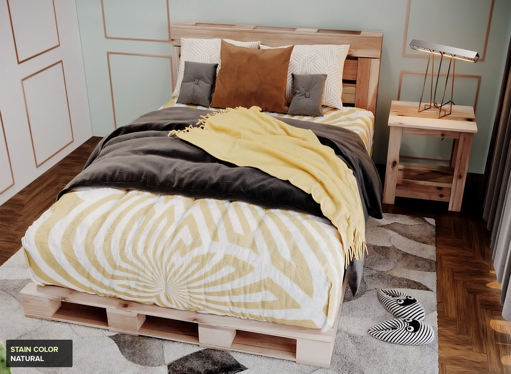 The Full Pallet Bed