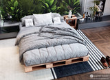 Pallet Bed - Platform Bed by Pallet Beds - Full Size