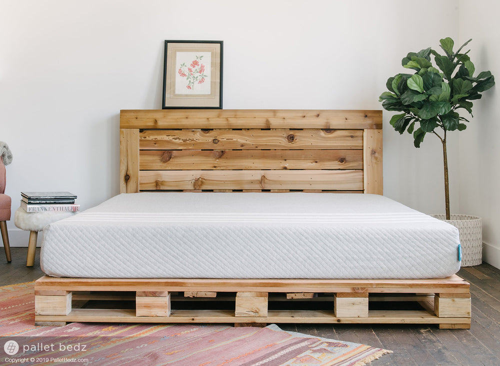 Pallet Bed Frame for King Size Mattress