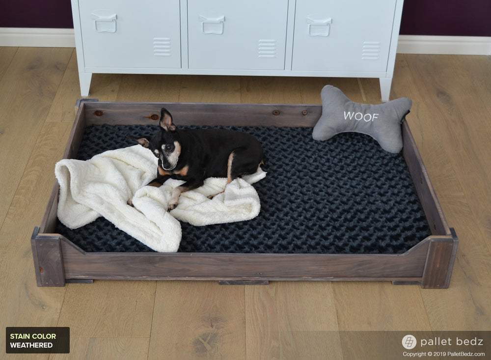 Pallet Dog Bed for Large Dogs