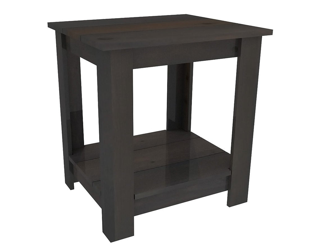 Pallet Wood Night Stand - Nightstand by Pallet Beds - Weathered