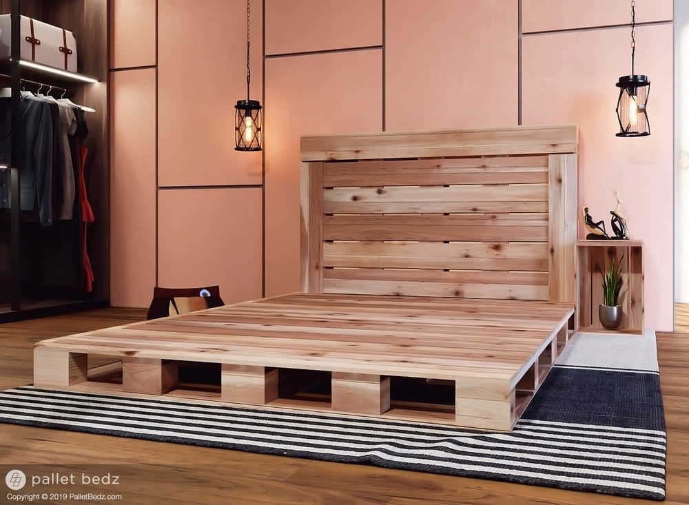 The Queen Pallet Bed Pallet Beds Co