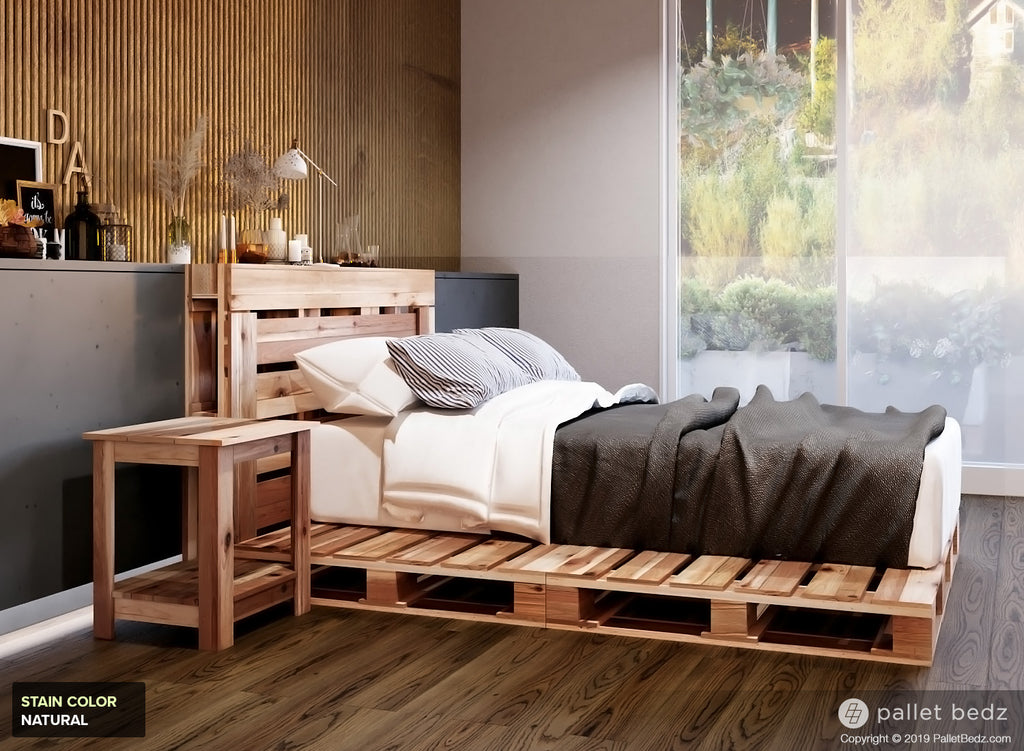 Pallet Bed For Twin Size Mattress The Pallet Beds Co
