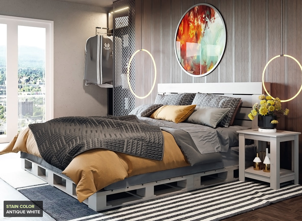 The King Pallet Bed
