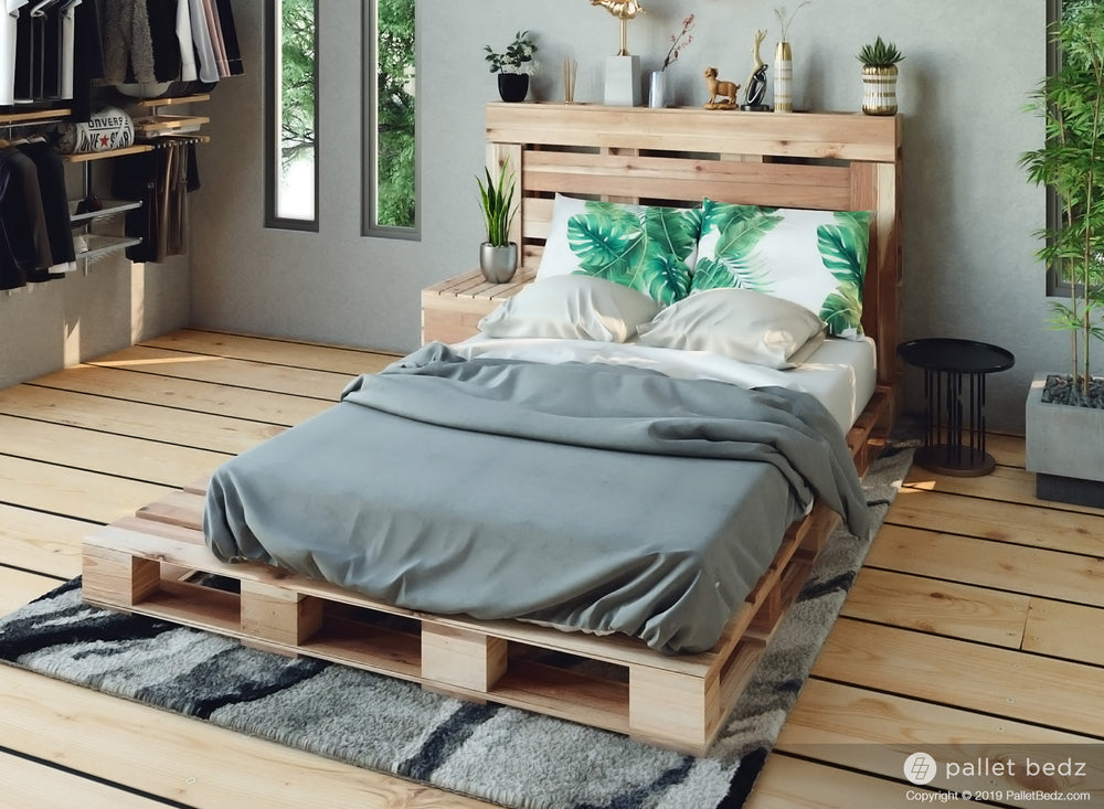 The Twin Pallet Bed