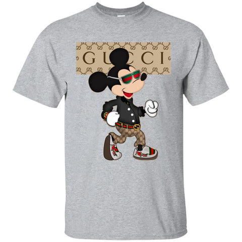1dcc89f6 Gucci Shirt Mickey Mouse 2018 T-Shirt Sport Grey Amazon Best Sellers - Ut.