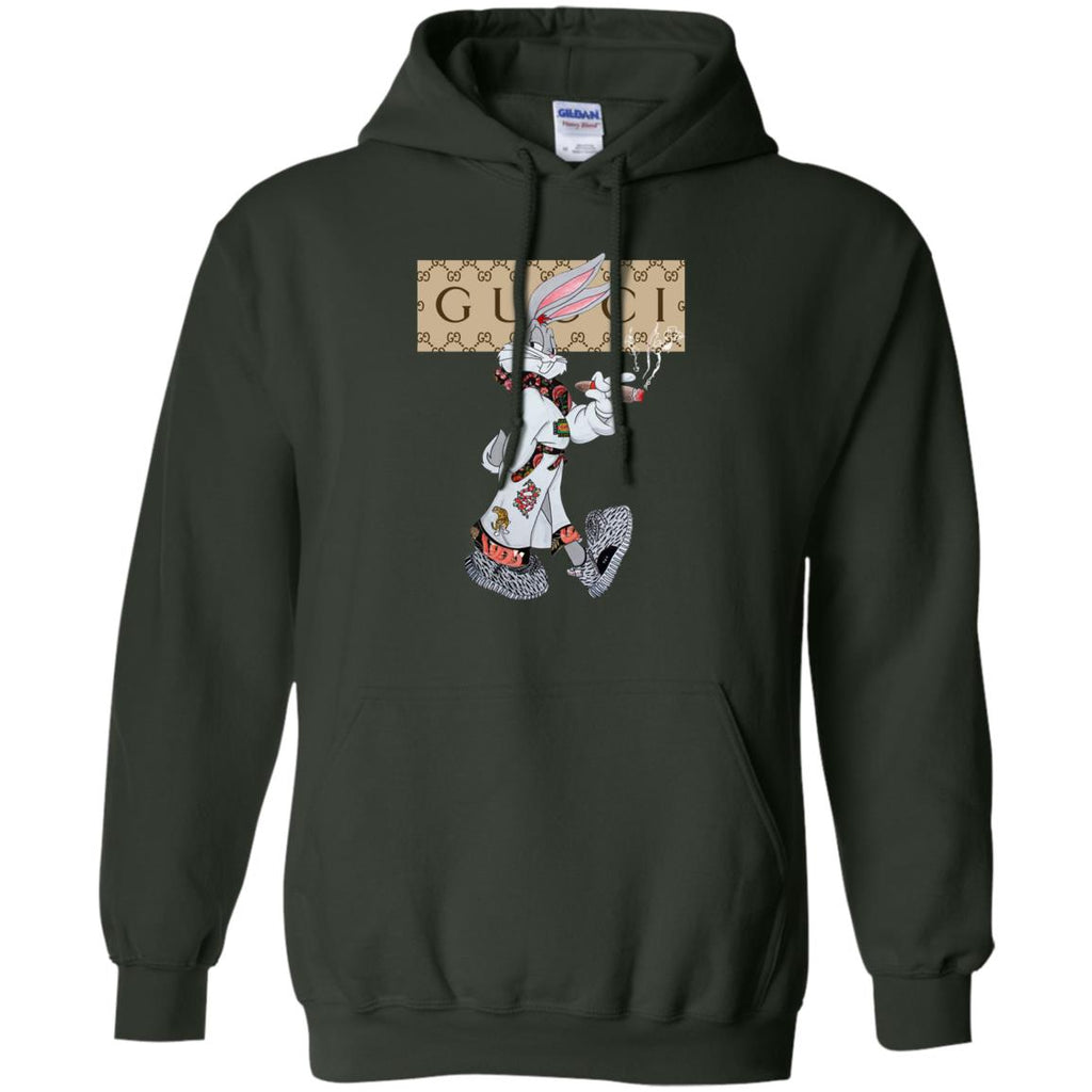 947a391ffe1 Gucci Rabbit Smoking Hoodie Forest Green Amazon Best Sellers - Ut.Style