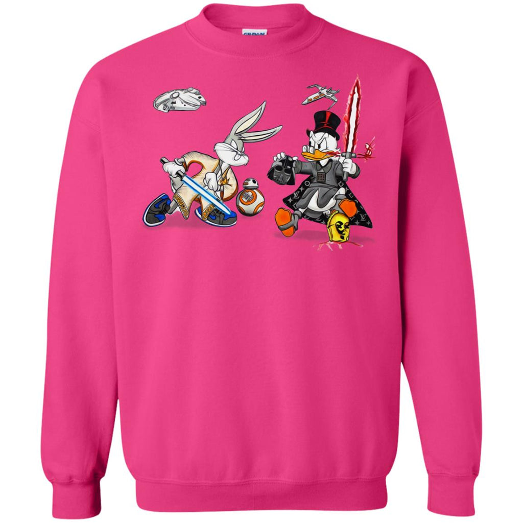 d1aed499c4 Star Wars T-shirts Rabbit Vs Duck Donald Funny Sweatshirt Heliconia Amazon  Best Sellers -