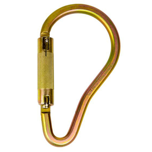 Guardian Fall Protection 01850 Double Locking Forged Pompier Hook