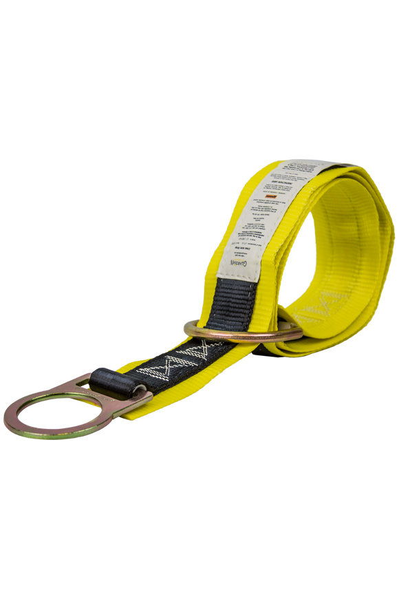 Guardian Fall Protection 10787 6' Premium Cross Arm Strap With Large and Small D-Rings