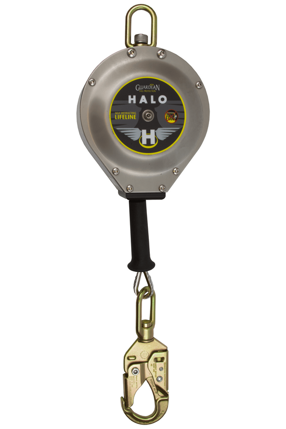 Guardian Fall Protection 10910 20' Halo Series SRL Cable Retractable Lifeline