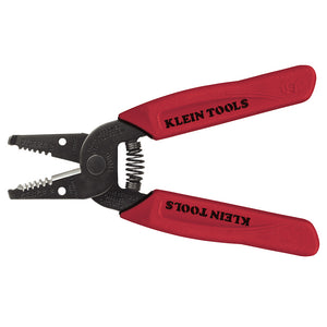 Klein Tools 11046 Wire Cutter/Stripper, 26 - 16 Awg, 6-1/4 In Oal, Hardened Steel, Black Oxide