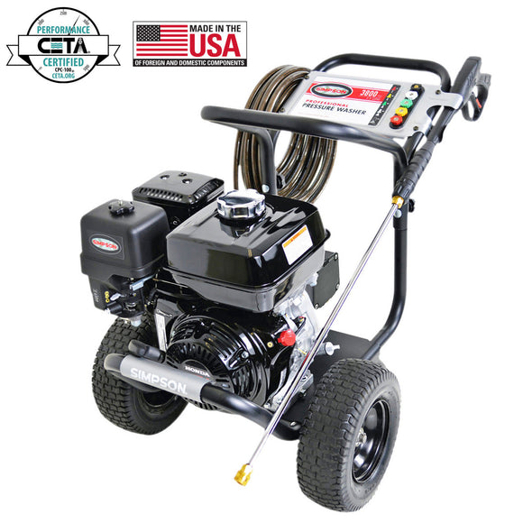 Simpson PS3835 Powershot Pressure Washer, 3800 PSI, 3.5 GPM