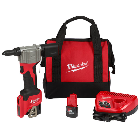 Milwaukee 2550-22 M12™ Rivet Tool Kit