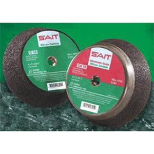 United Abrasives 26022 Tool & Cutter Grinding Wheel - Grade: Coarse, Grit Number: 16, Wheel Diameter: 6 in, Maximum RPM: 6050 RPM