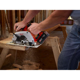 Milwaukee 2630-20 Heavy Duty Circular Saw, 18 V, 5/8 In Shank(Tool Only)
